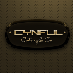 [Cynful] Clothing & Co. Logo Gold Square